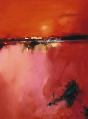 orange-horizon-peter-wileman